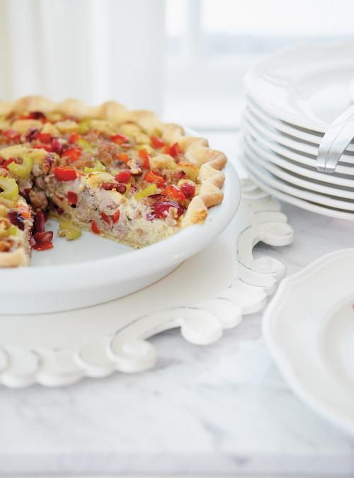 Christmas Stuffing Pie