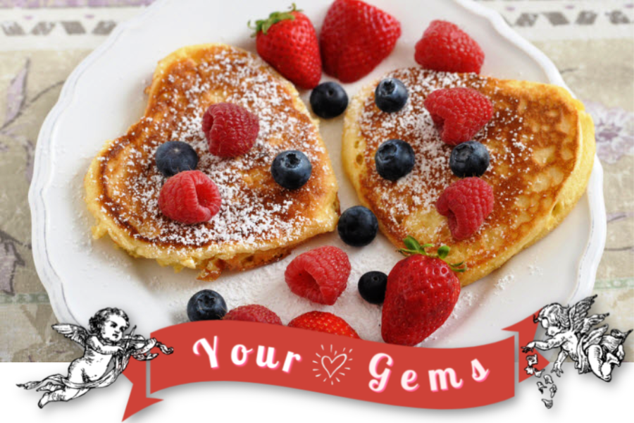Pancakes February Gems